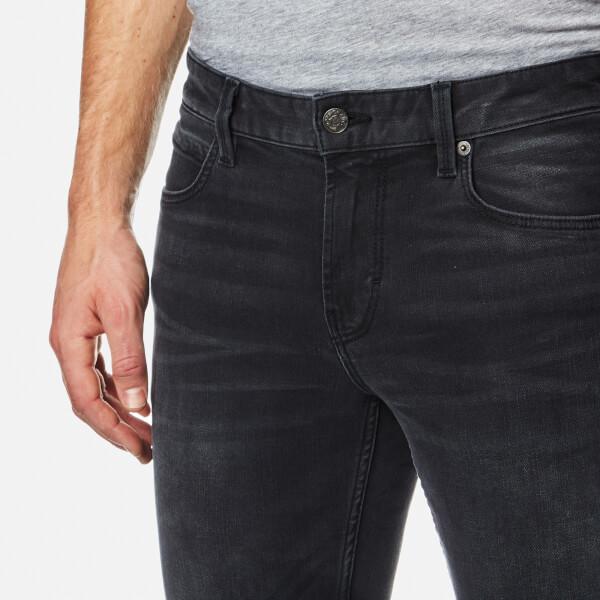 BOSS Orange Men s Orange 63 Denim Jeans - Black Mens Clothing ... 2ab47c414