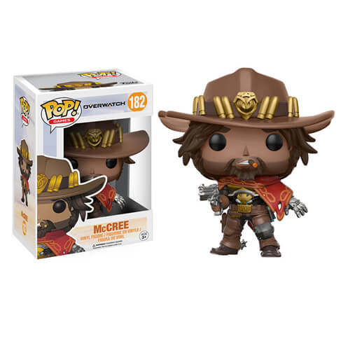 Overwatch Mccree Pop Vinyl Figure Pop In A Box Uk
