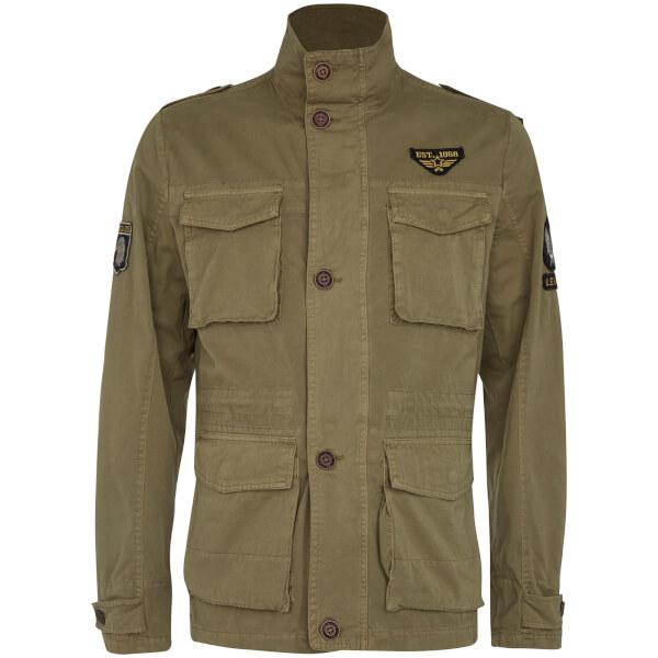 Tokyo Laundry Men's Jenkinson Lightweight Jacket - Stone