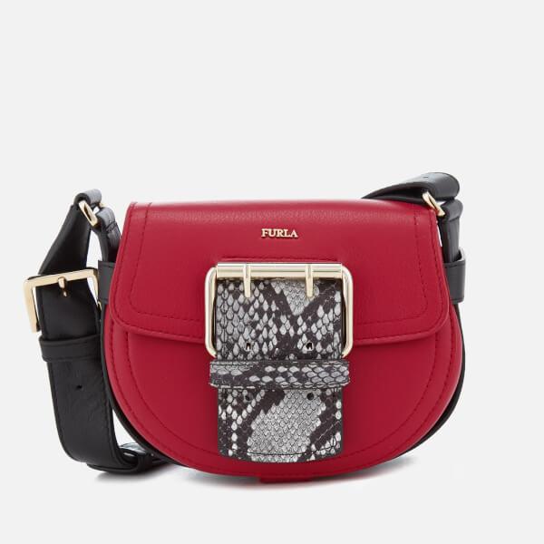 Furla Women's Hashtag Mini Cross Body Bag - Ruby and Argilla