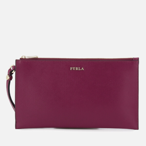 Furla Women's Babylon XL Envelope Clutch Bag - Amarena B