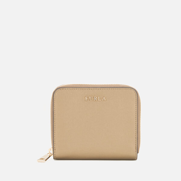 Furla Women's Babylon Small Zip Around Purse - Bronze