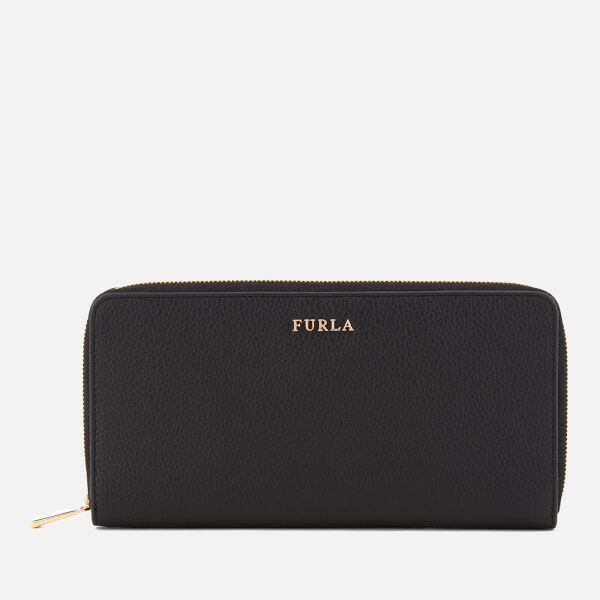 Furla Women's Babylon XL Zip Around Bag - Black