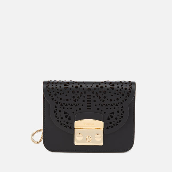 Furla Women's Metropolis Bolero Mini Cross Body Bag - Black
