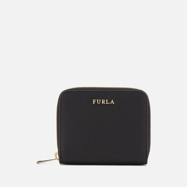 Furla Women's Babylon Small Zip Around Bag - Black