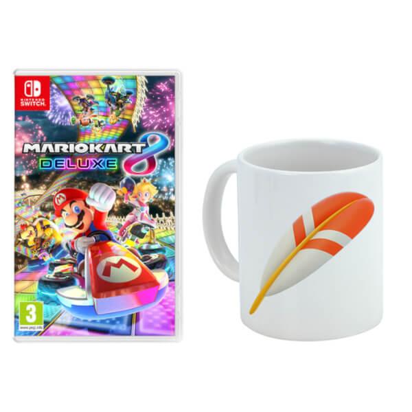 Mario Kart 8 Deluxe + Feather Mug