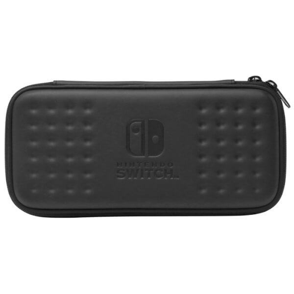 Nintendo switch hard pouch black nintendo official uk for Housse zelda nintendo switch