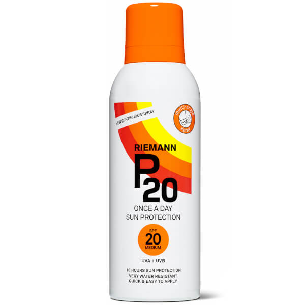 Riemann P20 Sun Protection Continuous Spray SPF20 150ml