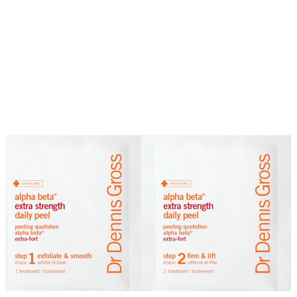 Dr Dennis Gross Skincare Alpha Beta Extra Strength Daily Peel (60 Packettes)