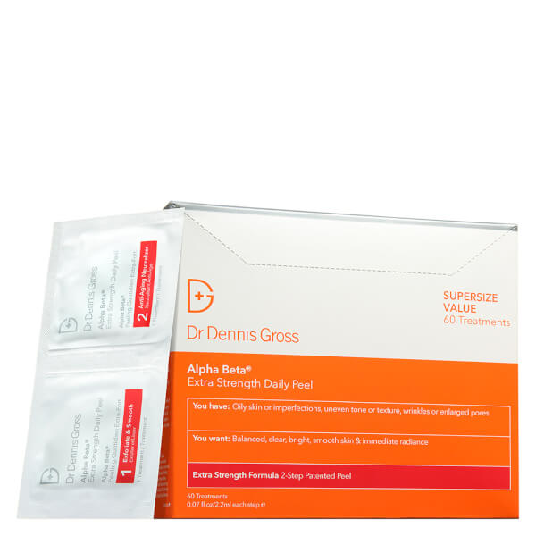 Dr Dennis Gross Skincare Alpha Beta Extra Strength Daily Peel (60 Packettes)