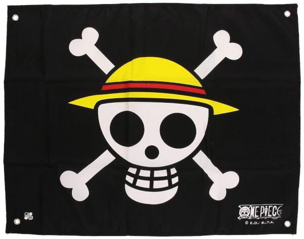 One Piece - skull Luffy Flag
