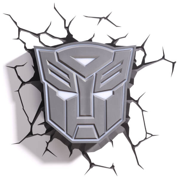Transformers 3D Autobot Shield Wall Light