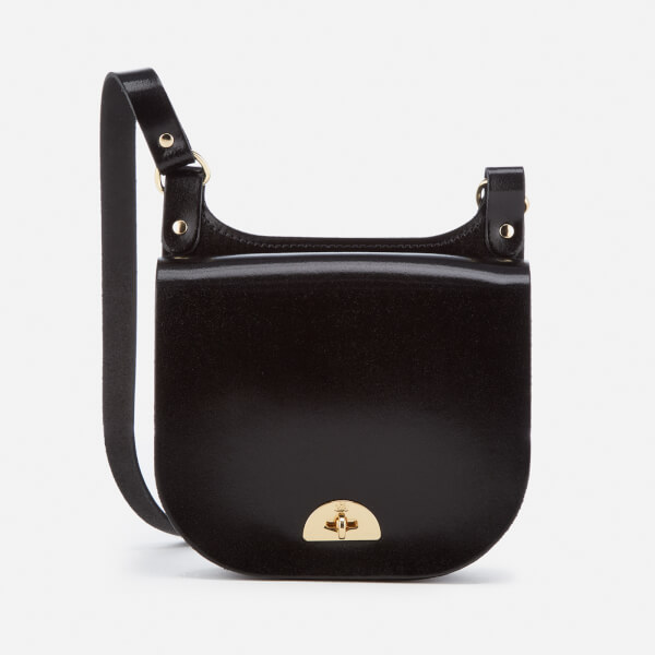 The Cambridge Satchel Company Women's Small Conductor's Bag - Black Patent