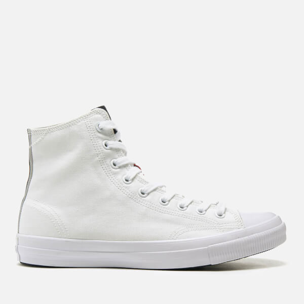 Superdry Men's Trophy Series High Top Trainers - Optic White