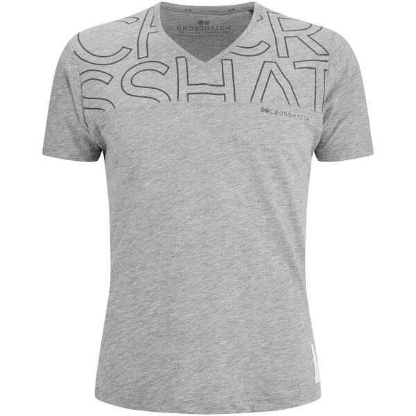T-Shirt Homme Bellatrix Crosshatch -Gris Clair