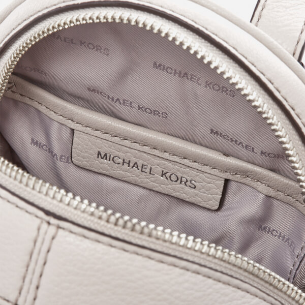 7b3892c76b94fb MICHAEL MICHAEL KORS Women's Rhea Zip Extra Small Backpack - Cement: Image 5