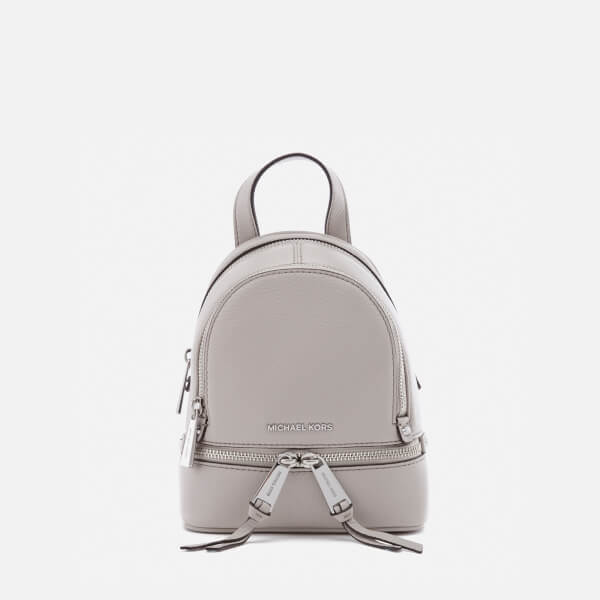 5de067389e08 ... czech michael michael kors womens rhea zip extra small backpack cement  image 1 0f4d9 a96ae