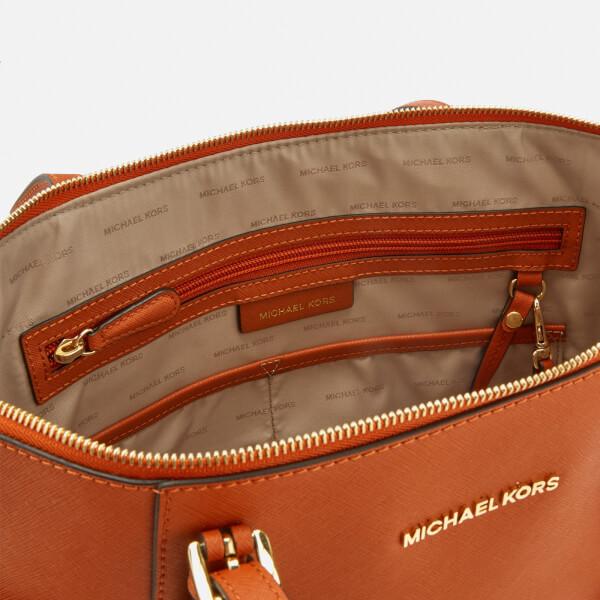 86b4395bd MICHAEL MICHAEL KORS Women's Jet Set East West Top Zip Tote Bag - Orange:  Image
