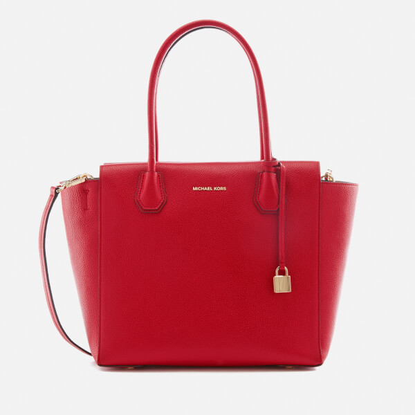 MICHAEL MICHAEL KORS Women's Mercer Large Satchel - Bright Red