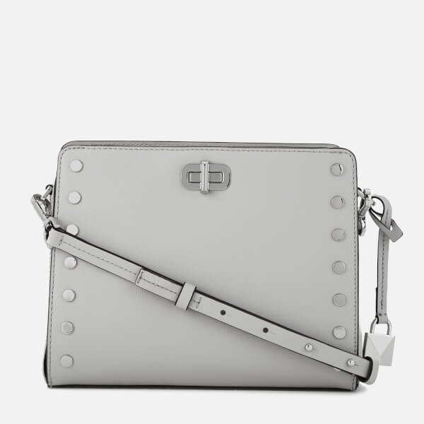 MICHAEL MICHAEL KORS Women's Sylvie Medium Messenger Bag - Aluminium