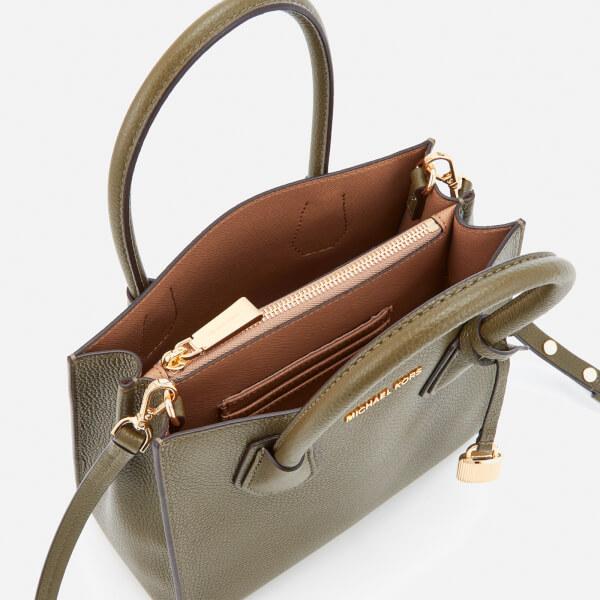 Michael Kors Women S Mercer Medium Messenger Bag Olive Image 5