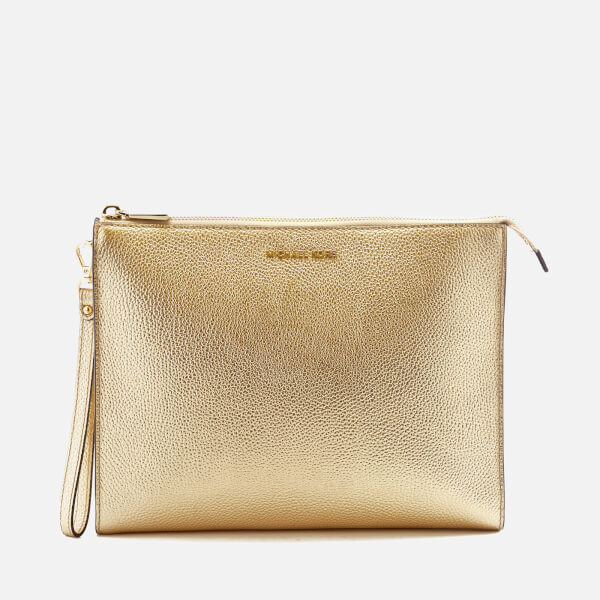 MICHAEL MICHAEL KORS Women's Mercer Large Box Travel Pouch - Pale Gold