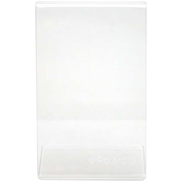 Polaroid Clear L Shaped Acrylic Frame (For 2x3 Inch Film/Paper ...