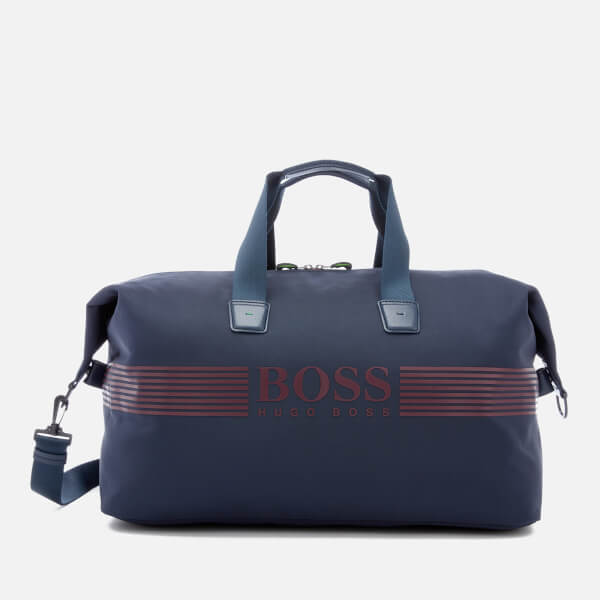 BOSS Green Men s Pixel Holdall Bag - Navy - Free UK Delivery over £50 3ee84c43e