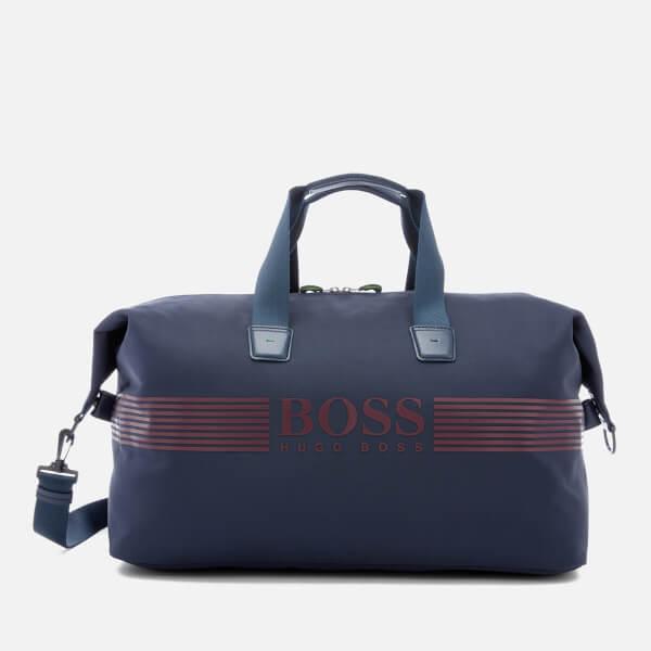 BOSS Green Men's Pixel Holdall Bag - Navy