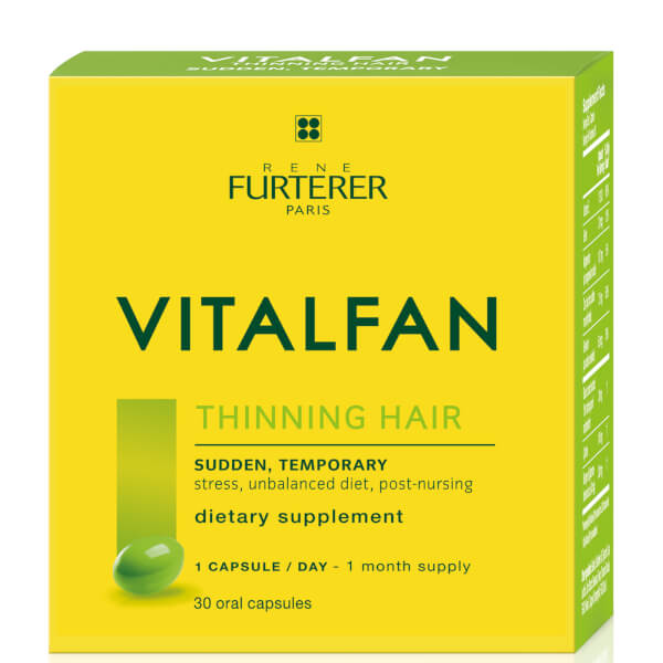 René Furterer Vitalfan Dietary Supplement - Sudden, Temporary (1 Month Supply/30 Caps)
