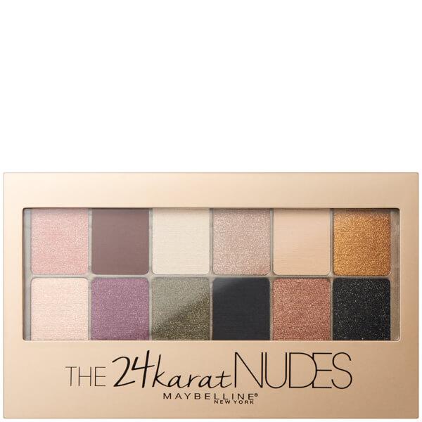 Maybelline 24 Karat Nudes Eyeshadow Palette 10g