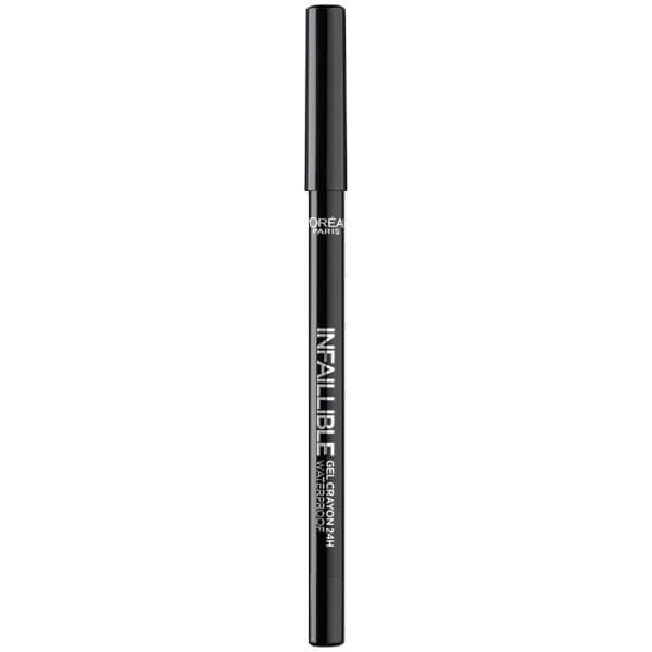 LOréal Paris Infallible Crayon Eyeliner - 01 Back to Black
