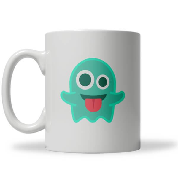 Ghost Emoji Mug