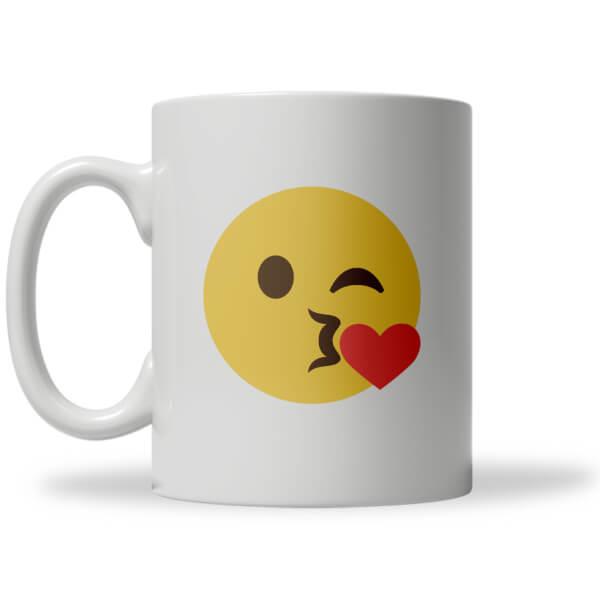 Tasse Emoji Bisou