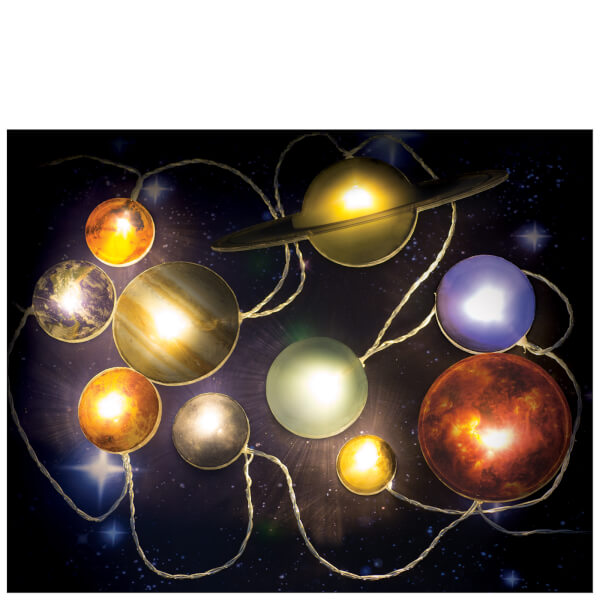 Charming Solar System Lighting Part - 4: Solar System String Lights