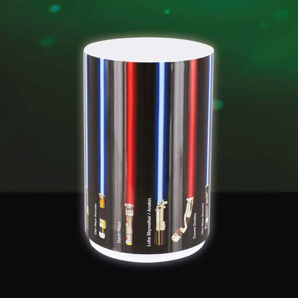 Veilleuse Sabres Lasers Star Wars - Noir