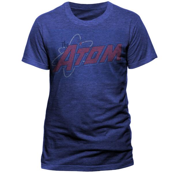 T-Shirt Homme DC Comics Atom Distressed Logo - Bleu