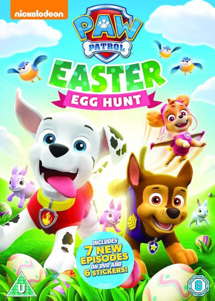 Paw Patrol: Easter Egg Hunt + Sticker Sheet - Sticker Sheet Version