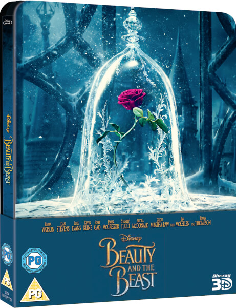 Uk Beauty And The Beast 3d 2017 Zavvi Exclusive
