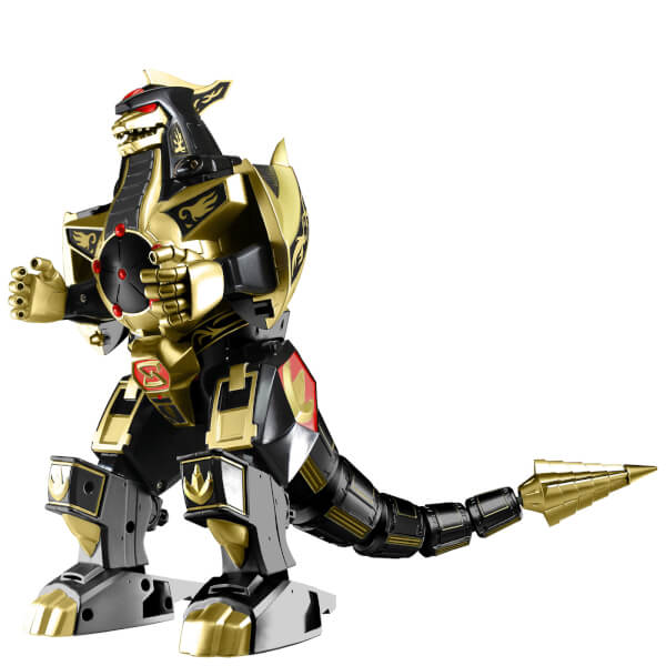 Power Rangers Legacy Black and Gold Dragonzord