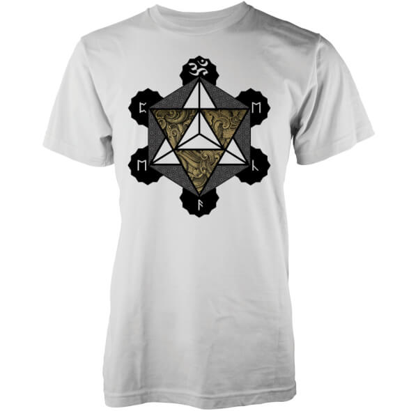 Abandon Ship Men's Metatron T-Shirt - White