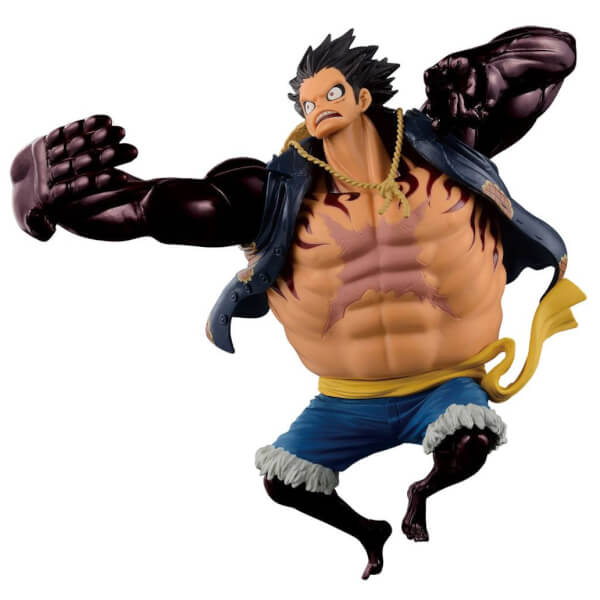 Banpresto One Piece Scultures Big Zoukeio Special - Gear 4th Monkey D Luffy