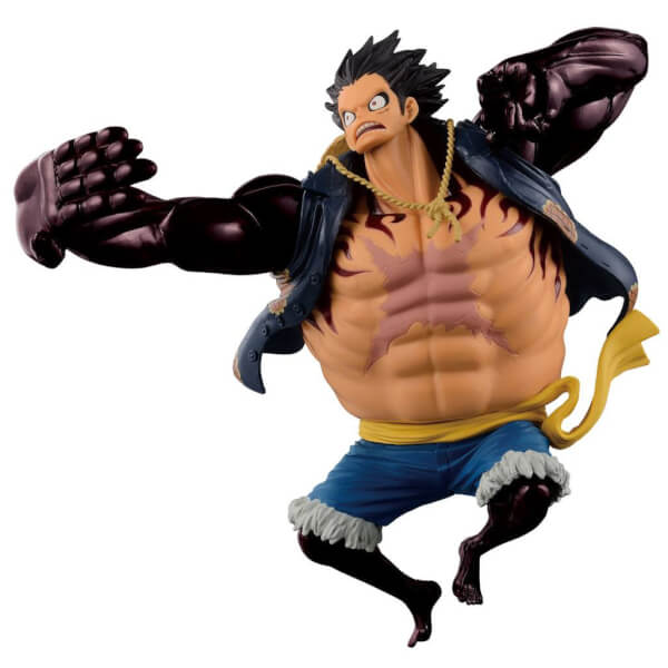 Banpresto One Piece Scultures Big Zoukeio Special - Gear 4th Monkey D Luffy
