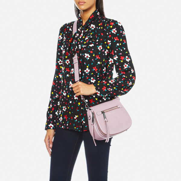 dc9db33446a24a Marc Jacobs Women's Recruit Small Nomad Saddle Bag - Pale Lilac: Image 2