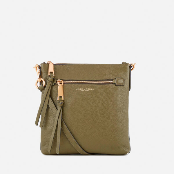 Marc Jacobs Women's Recruit North South Cross Body Bag - Army Green
