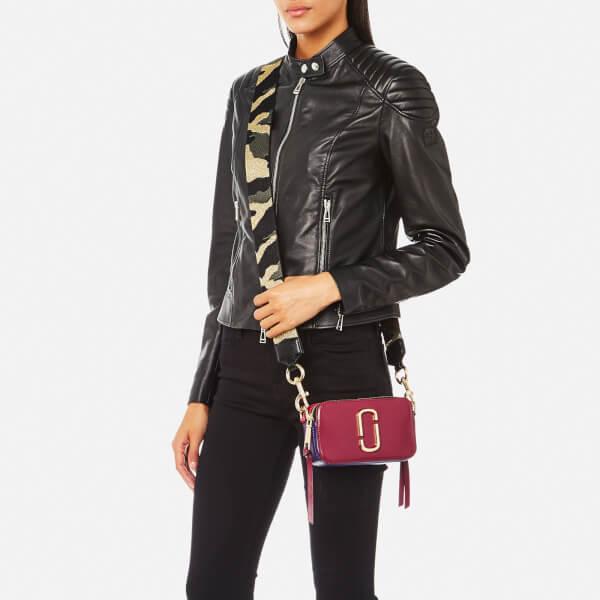 Marc Jacobs Women s Snapshot Cross Body Bag - Berry Multi Womens ... 27ee6c4015602