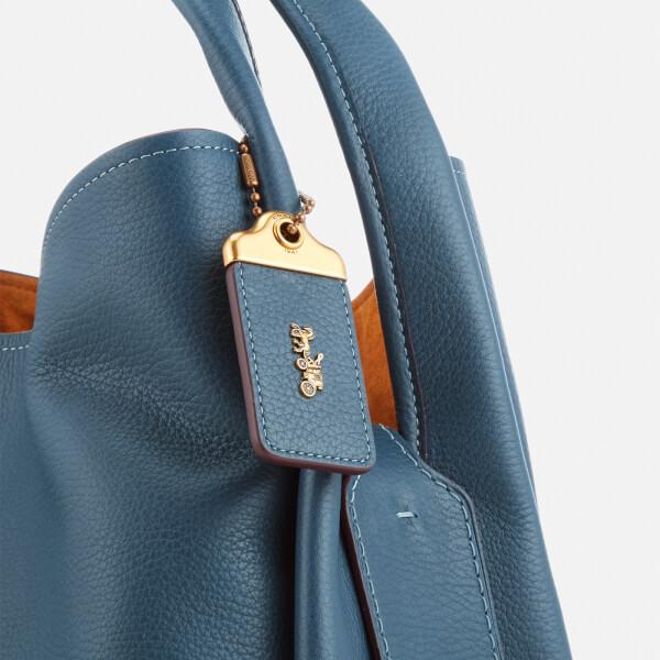 208a62c95c Coach 1941 Women's Glovetanned Pebble Leather Bandit Hobo Bag - Dark Denim:  Image 5
