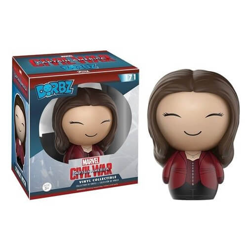 Captain America Civil War Vinyl Sugar Dorbz Vinyl Figure Scarlet Witch 8 cm