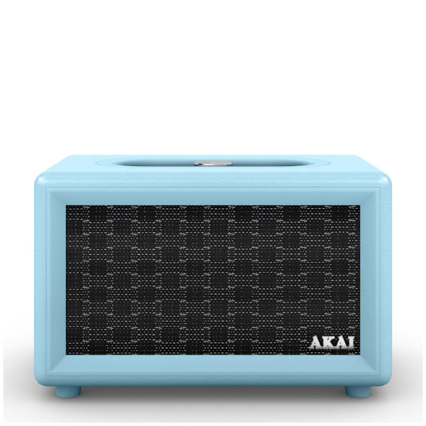 Akai Retro Bluetooth Speaker (2 x 20W) - Blue