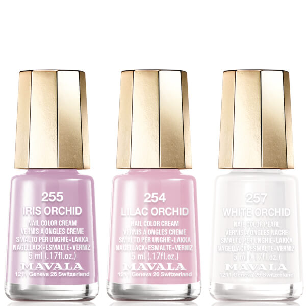 Mavala Delicate Nail Varnish Trio - Version 1 (255, 257, 259)